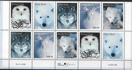 1999  USA Mi.3094-8  **MNH  Tiere Der Arktis - Vereinigte Staaten
