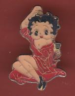 54658- Pin's BD..cinema. Betty Boop.pin Up. - BD