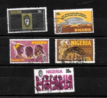 Nigeria 1986 African Festival Of Arts Complete Set  Used  (6993) - Nigeria (1961-...)