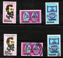 Nigeria 1976 Telephone Centenary Complete Set  MNH And Used  (6995) - Nigeria (1961-...)