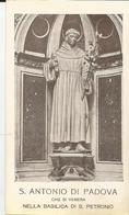 SANTINO S. ANTONIO DI PADOVA VENERATO NELLA BASILICA DI SAN PETRONIO (637) - Santini