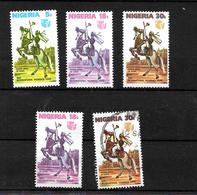 Nigeria 1975 International Womens Year Complete Set  MNH Plus 18k And 30k Used (6996) - Nigeria (1961-...)