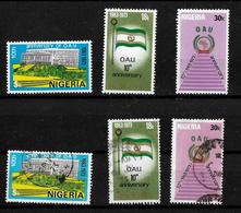 Nigeria 1973 OAU Anniversary  Complete Set  MNH And Used (6998) - Nigeria (1961-...)