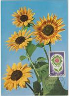 Carte-Maximum FRANCE N° Yvert 1431 (EUROPA) Obl Sp 1er Jour (Ed Allemande) - Cartoline Maximum