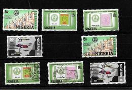 Nigeria 1974 Stamp Centenary  Complete Set  MNH And Used (6999) - Nigeria (1961-...)