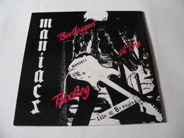 LP/  Maniacs - Bootlegged At The Bootleg. Live In Baväria / 1988 - Punk