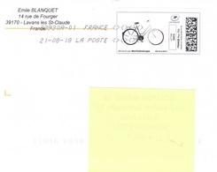 Mon Timbre En Ligne-21/08/2018-VELO - Vélo