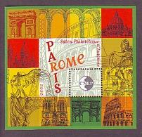 BLOC CNEP 2002 N° 37 - PARIS ROME TOUR EIFFEL ARC TRIOMPHE SACRE COEUR COLISEE - CNEP
