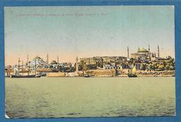 CONSTANTINOPLE ISTANBUL MOSQUEE DE SANTE SOPHIE PRISE DE LA MER UNUSED - Turchia