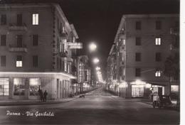 PARMA - Via Garibaldi - Albergo Hotel BRISTOL - Animata Insegna Birra - Auto D'epoca Car Voiture - Parma