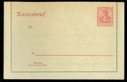 DEUTSCHLAND * DEUTSCHES REICH * KARTENBRIEF 10 Pf. UNBENUTZT   11.453b) - Germany