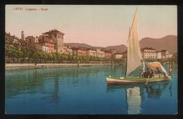 Lugano. *Quai* Ed. Photoglob Nº L3771. Nueva. - TI Tessin