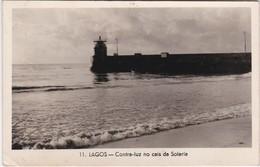 POSTCARD PORTUGAL - ALGARVE -LAGOS - CONTRA LUZ NO CAIS DA SOLARIA - CIRCULATED TO FRANCE - Faro