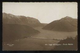 *Lago Di Lugano. Ponte Melide* Ed. Mayr Nº 111. Nueva. - TI Tessin