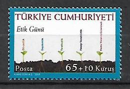 TURKEY 2009 Sc#B291 Ethic Day Complete Set MNH LUX - 1921-... Republik