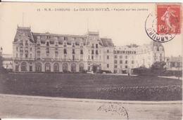 CPA - 13. CABOURG Le Grand Hôtel Façade Sur Les Jardins - Cabourg