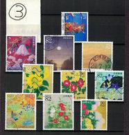 Japan 2017.06.07 Greetings, Japanese Paintings (used)③ - 1989-... Empereur Akihito (Ere Heisei)