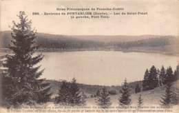 25 - Environs De PONTARLIER - Lac De Saint-Point - Pontarlier