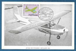 AERO CLUB DE PORTUGAL 1959 LISBOA AVIAO DE TURISMO SKYLANE 180 - Lisboa