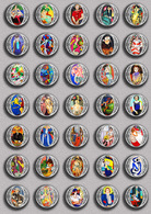 Henri Matisse Painting Fan ART BADGE BUTTON PIN SET 3 (1inch/25mm Diameter) 35 DIFF - Pins