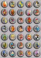 Henri Matisse Painting Fan ART BADGE BUTTON PIN SET 4 (1inch/25mm Diameter) 35 DIFF - Pins