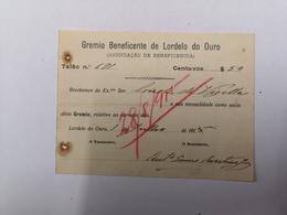 PORTUGAL GRÉMIO BENEFICENTE DE LORDELO DO OURO 1 JULHO 1915 - Portugal