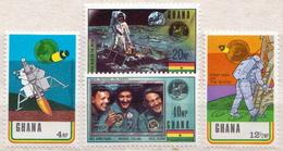 Ghana MNH Set And SS - Space