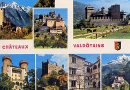Chateaux - Valdotains - Valle D'aosta - Formato Grande Non Viaggiata – E 8 - Aosta