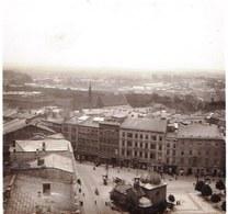 RARE !! SUPERBE VUE STEREOSCOPIQUE POLAND - POLOGNE 1904 - KRAKOW - KRAKAU - VUE DE LA TOUR NOTRE DAME - Pologne