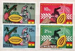 Ghana MNH Set And SS - Fruit