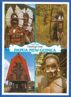 Papua Neuguinea; Kaluli Men; Mount Bosavi - Papua New Guinea