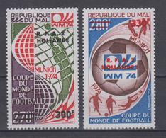 MALI 1974 FOOTBALL WORLD CUP OVERPINT - Coppa Del Mondo