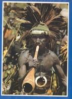Papua Neuguinea; Highland Musician - Papua New Guinea