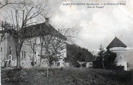 Cpa (74)--saint-sylvestre - Le Chateau De Songy (vue Du Verger) - France