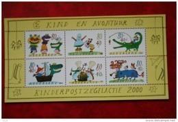 Blok Kinderzegels Kind Child Welfare Enfant NVPH 1930 (Mi Block 67); 2000 POSTFRIS / MNH ** NEDERLAND / NIEDERLANDE - Unused Stamps