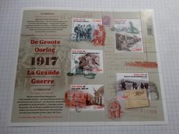 BE 2017 ** La Grande Guerre/De Groote Oorlog - Belgique