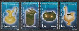 TURKEY 2009 Sc#3181-84 Items Of Phrygians Complete Set MNH LUX - 1921-... Republic
