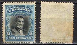 ECUADOR - 1907 - DIEGO NOBOA - MH - Ecuador