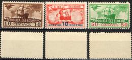 ECUADOR - 1935 - CARAVELòLE - CRISTOFORO COLOMBO - MNH - Ecuador