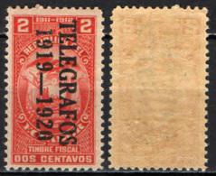 ECUADOR - 1919 - TELEGRAFOS - 1919-1920 - MNH - Ecuador