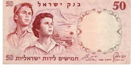 Israel P.33a 50 Lirot 1960 Xf-au - Israele