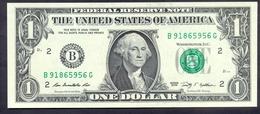 USA 1 Dollar 2009 B  - UNC # P- 530 B - New York NY - Billetes De La Reserva Federal (1928-...)