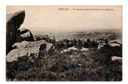 50 - MORTAIN . VUE GÉNÉRALE PRISE DES ROCHERS DE LA MONTJOIE - Réf. N°19489 - - Autres Communes