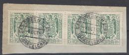 Facturas Y Recibos 38 (o) Aguila. 1939 Uso Postal - Fiscale Zegels