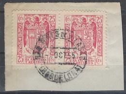 Facturas Y Recibos 39 (o) Aguila. 1939 Uso Postal - Fiscale Zegels
