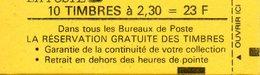 France.carnet 2614 C4.carnet De 10 Timbres.neuf Non Ouvert. - Carnets