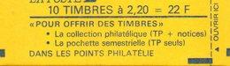France.carnet 2376 C8.carnet De 10 Timbres.faites De La Musique.neuf Non Ouvert. - Carnets