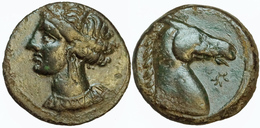 Zeugitanie Carthage 5,08 G ( MAA 57a; SNG Cop 144) - Greek