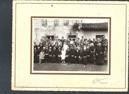 CHASSENON CLICHE DEFOURNE ROCHECHOUART PHOTO DE MARIAGE - Places