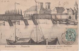 57 - THIONVILLE - L'ANCIEN PONT COUVERT - NELS SERIE 100 N° 27 - Thionville